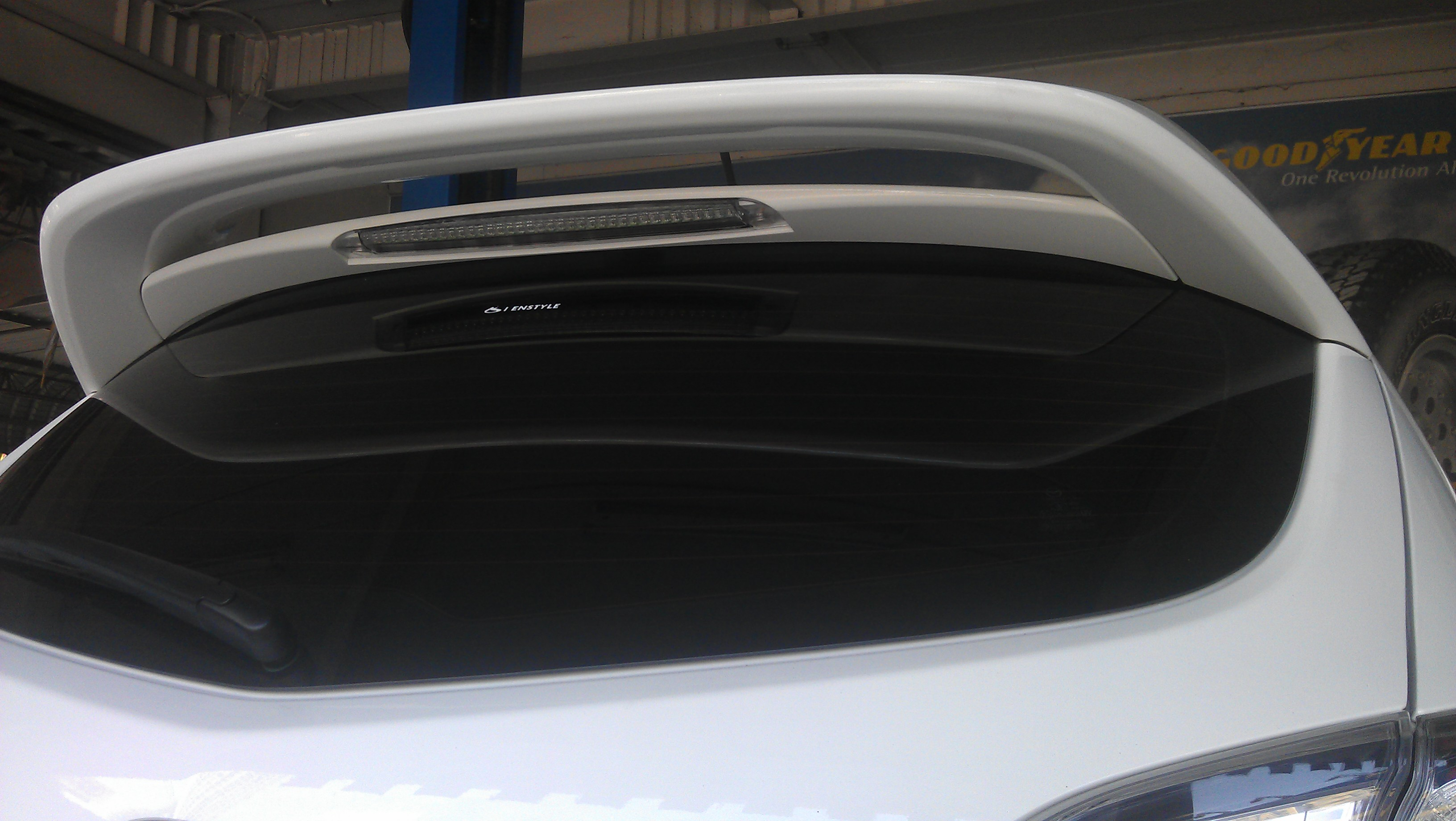 on r spoiler my comments mazda the got oem